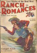Ranch Romances (1924-1968 Clayton/Warner/Best Books/Literary Enterprises/Popular) Pulp Vol. 102 #1