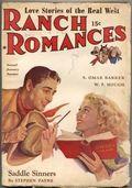 Ranch Romances (1924-1968 Clayton/Warner/Best Books/Literary Enterprises/Popular) Pulp Vol. 110 #4