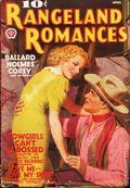 Rangeland Romances (1935-1955 Popular) Pulp Vol. 9 #3