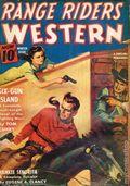 Range Riders Western (1938-1953 Better Publications) Pulp Vol. 8 #1