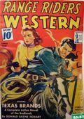 Range Riders Western (1938-1953 Better Publications) Pulp Vol. 9 #1