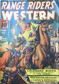 Range Riders Western (1938-1953 Better Publications) Pulp Vol. 10 #2