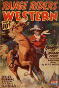 Range Riders Western (1938-1953 Better Publications) Pulp Vol. 13 #3
