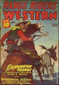 Range Riders Western (1938-1953 Better Publications) Pulp Vol. 14 #3