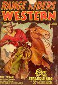 Range Riders Western (1938-1953 Better Publications) Pulp Vol. 18 #3