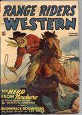 Range Riders Western (1938-1953 Better Publications) Pulp Vol. 19 #1