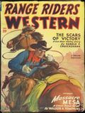 Range Riders Western (1938-1953 Better Publications) Pulp Vol. 23 #1