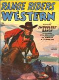 Range Riders Western (1938-1953 Better Publications) Pulp Vol. 25 #1