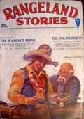 Rangeland Stories (1928-1929 Clayton Magazines) Pulp Vol. 1 #3