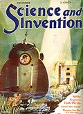 Science and Invention (1920-1931 Experimenter Publishing) Vol. 17 #8