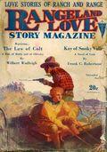 Rangeland Love Story Magazine (1929-1930 Clayton) Pulp Vol. 4 #1