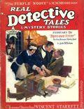 Real Detective Tales (1924-1934 Real Detective Tales Inc.) Pulp Vol. 13 #1