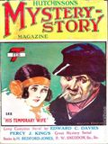 Hutchinson's Mystery-Story Magazine (1923-1927 Hutchinson) Pulp Vol. 5 #25