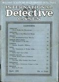 International Detective Cases (1936-1937 Carwood Publishing) Pulp Vol. 1 #1