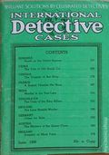 International Detective Cases (1936-1937 Carwood Publishing) Pulp Vol. 1 #3