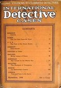 International Detective Cases (1936-1937 Carwood Publishing) Pulp Vol. 1 #6