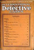 International Detective Cases (1936-1937 Carwood Publishing) Pulp Vol. 1 #6