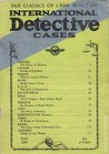 International Detective Cases (1936-1937 Carwood Publishing) Pulp Vol. 3 #1