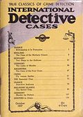 International Detective Cases (1936-1937 Carwood Publishing) Pulp Vol. 3 #5
