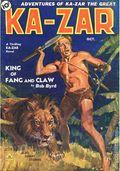 Adventures of Ka-Zar the Great (1936-1937 Manvis Publications) Pulp Vol. 1 #1