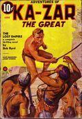 Adventures of Ka-Zar the Great (1936-1937 Manvis Publications) Pulp Vol. 1 #3