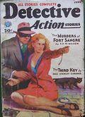 Detective Action Stories (1930-1937 Popular Publications) Pulp Vol. 3 #1