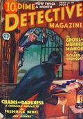Dime Detective Magazine (1931-1953 Popular Publications) Pulp Vol. 6 #4