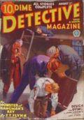 Dime Detective Magazine (1931-1953 Popular Publications) Pulp Aug 1 1933