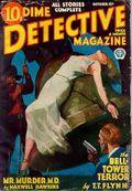 Dime Detective Magazine (1931-1953 Popular Publications) Pulp Oct 15 1933