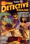 Dime Detective Magazine (1931-1953 Popular Publications) Pulp May 1938