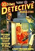 Dime Detective Magazine (1931-1953 Popular Publications) Pulp Aug 1939