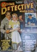 Dime Detective Magazine (1931-1953 Popular Publications) Pulp Vol. 33 #4