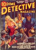 Dime Detective Magazine (1931-1953 Popular Publications) Pulp Sep 1941