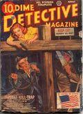 Dime Detective Magazine (1931-1953 Popular Publications) Pulp Aug 1942