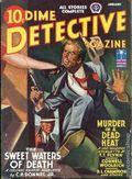 Dime Detective Magazine (1931-1953 Popular Publications) Pulp Jan 1943