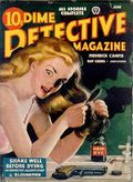 Dime Detective Magazine (1931-1953 Popular Publications) Pulp Jun 1944