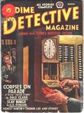Dime Detective Magazine (1931-1953 Popular Publications) Pulp Mar 1945