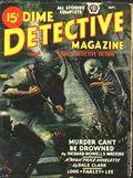 Dime Detective Magazine (1931-1953 Popular Publications) Pulp Sep 1945