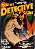 Dime Detective Magazine (1931-1953 Popular Publications) Pulp Oct 1945