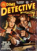 Dime Detective Magazine (1931-1953 Popular Publications) Pulp Feb 1947
