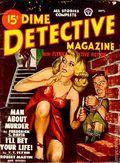 Dime Detective Magazine (1931-1953 Popular Publications) Pulp Sep 1948