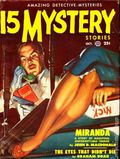 15 Mystery Stories (1950 Popular) Pulp Vol. 40 #3