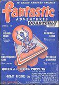 Fantastic Adventures Quarterly (1941-1951 Ziff-Davis Publishing) Pulp Vol. 1 #2