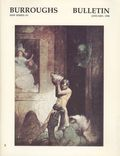 Burroughs Bulletin (1990 Burroughs Bibliophiles) New Series Fanzine 1