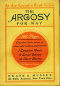 Argosy Part 2: Argosy (1894-1920 Munsey Publications) Vol. 36 #2
