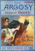 Argosy Part 2: Argosy (1894-1920 Munsey Publications) Vol. 89 #4
