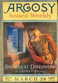 Argosy Part 2: Argosy (1894-1920 Munsey Publications) Vol. 119 #1