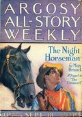 Argosy Part 3: Argosy All-Story Weekly (1920-1929 Munsey/William T. Dewart) Sep 18 1920