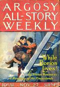 Argosy Part 3: Argosy All-Story Weekly (1920-1929 Munsey/William T. Dewart) Nov 27 1920