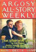 Argosy Part 3: Argosy All-Story Weekly (1920-1929 Munsey/William T. Dewart) Dec 4 1920